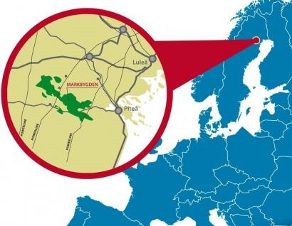 El mayor parque eólico terrestre de Europa estará muy cerca del Círculo Polar Ártico