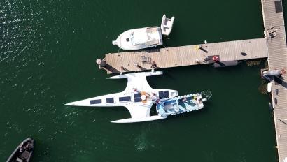 Leva anclas el barco solar autónomo Mayflower