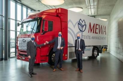 El camión Hyundai de hidrógeno que ya circula en Alemania