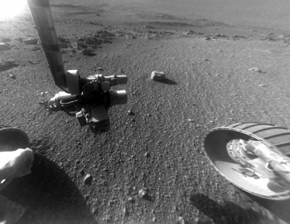 Solar-Powered Rover Approaching 5000th Martian Dawn