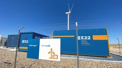Naturgy almacena viento en baterías en dos parques de Zamora