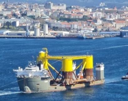 El BNG propone reforzar Navantia para potenciar su participación en el floreciente negocio eólico marino flotante