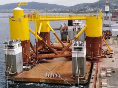 Navantia, el único astillero del mundo que ha participado en tres proyectos eólicos marinos flotantes