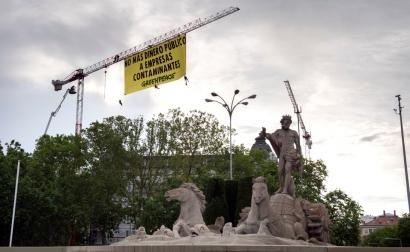 Greenpeace denuncia las subvenciones a los combustibles fósiles que quiere aprobar hoy el Gobierno