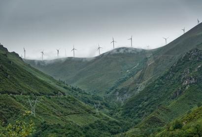 Moratoria eólica en Asturias
