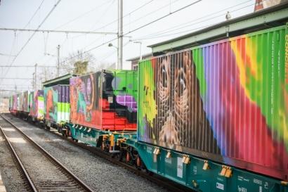 El Tren de Noé visibilizará en España la necesidad de apostar por un trasnporte de mercancías sostenible