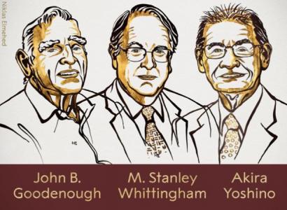El Nobel de Química 2019, para los padres de la batería de ión-litio recargable