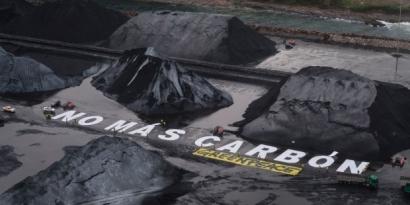 Greenpeace critica que el Acuerdo del Carbón no le haya puesto fecha al cierre de las térmicas