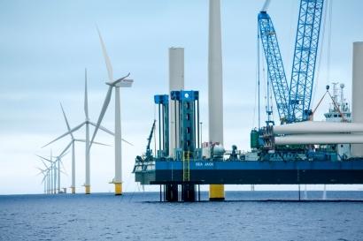 La inversión en parques eólicos marinos crecerá un 57%