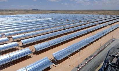 Alemania apunta al mercado termosolar de Oriente Medio y África del Norte
