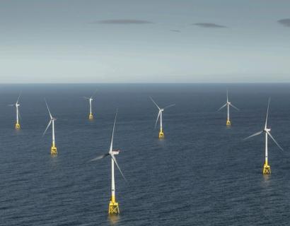 La eólica marina europea se pone a cien