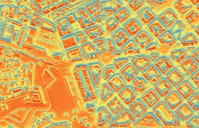 Los tejados de Pamplona pueden producir el 76% de la demanda de electricidad de la ciudad
