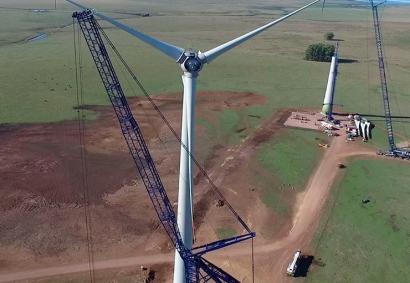 Así son los tres gigantes eólicos del Sur de América