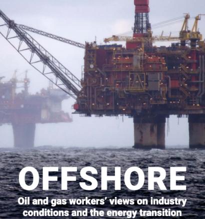 Cuatro de cada cinco trabajadores de la industria del petróleo en el Mar del Norte quieren cambiar de empleo