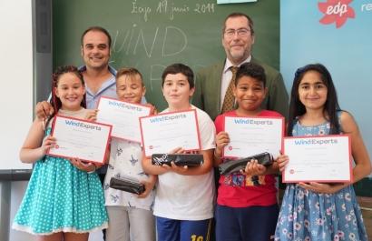 Un colegio de primaria sevillano, premio Wind Expert de EDPR