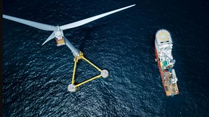Eólica - España quiere ser número uno del mundo en eólica marina flotante - Energías Renovables, el periodismo de las energías limpias.