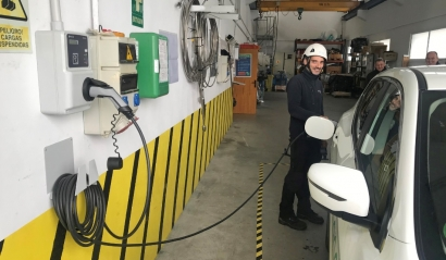 Endesa colocará puntos de recarga para vehículos eléctricos en todos sus parques eólicos