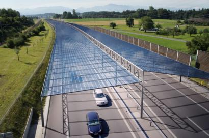 Marquesinas fotovoltaicas para las carreteras de Europa: un proyecto con mucho valor añadido
