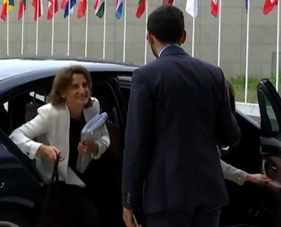 La ministra Ribera pisa el acelerador en la lucha contra el cambio climático