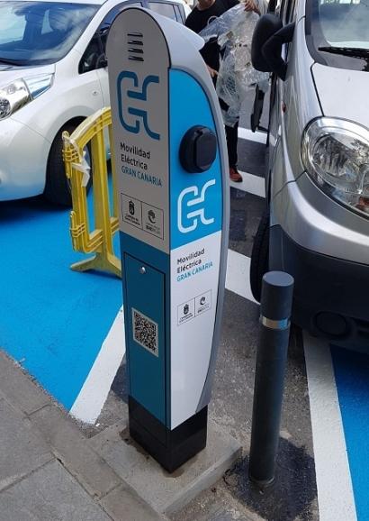 Gran Canaria, a punto de tener puntos de recarga para vehículos eléctricos en todos sus municipios