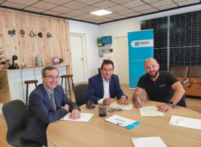 Ruano sube a la primera división fotovoltaica