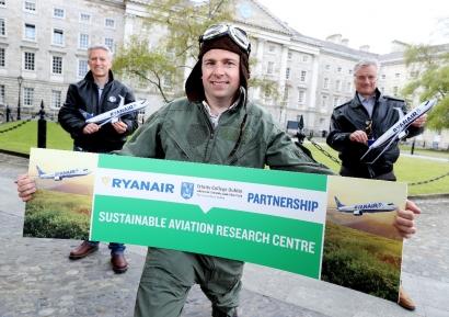 Ryanair y el Trinity College anuncian la creación de un centro de I+D sobre Combustibles de Aviación Sostenibles