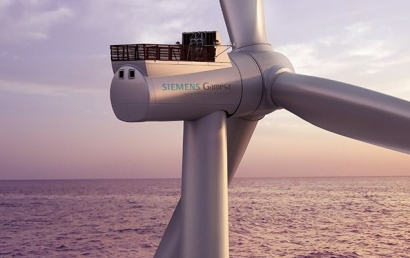 Francia entra en la carrera eólica marina de la mano de una filial de Iberdrola