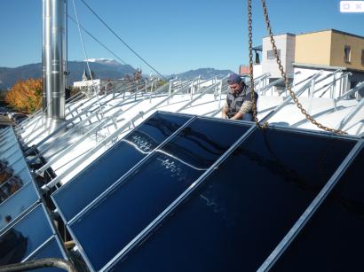 La solar térmica europea crece más de un 3% en ventas