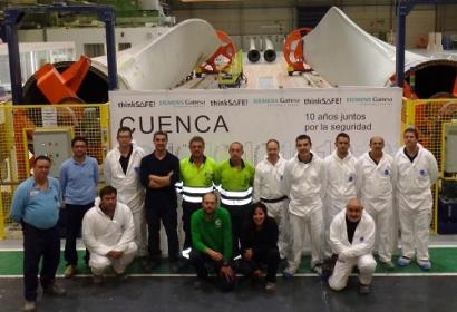 El taller de palas de aerogenerador más importante del mundo está en Cuenca