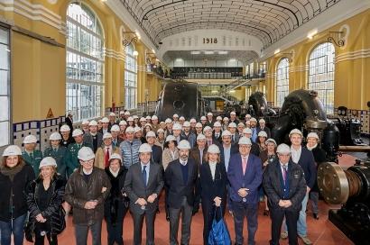 Acciona conmemora en el Alto Aragón el centenario de la central hidroeléctrica de Seira