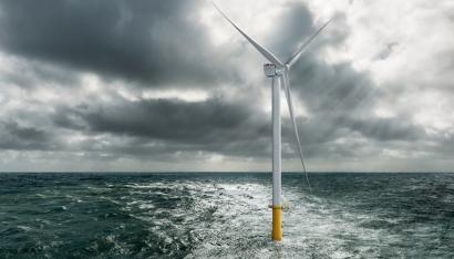 El gigante Siemens de diez megavatios, listo para su instalación en aguas holandesas