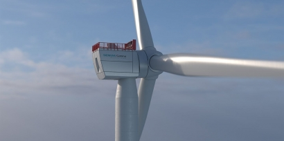 El súperaerogenerador que soporta rachas de viento de casi 300 kilómetros por hora
