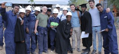Alianza Shire presenta su primer proyecto para mejorar la electricidad en los campos de refugiados