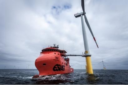 Siemens Gamesa suministrará 20 mega-aerogeneradores al primer parque eólico marino de Taiwán