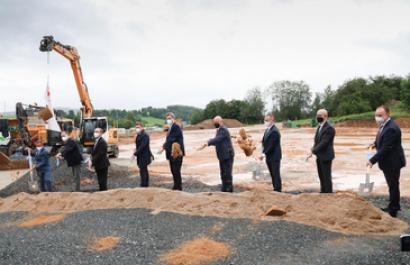 Primera piedra de la planta de hidrógeno verde de Siemens en Baviera