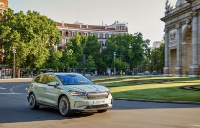 Škoda presenta su primer SUV 100% eléctrico