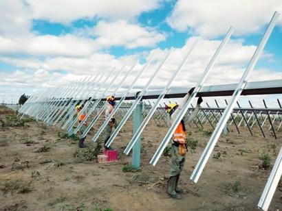 Soltec instala una planta de seguidores SF7 bifaciales de 475 MW en Brasil