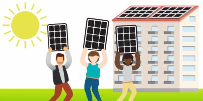 Som energía publica una guía sobre el autoconsumo en bloques de pisos
