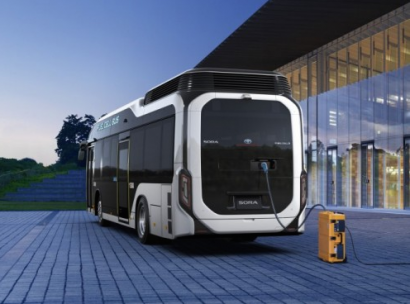 En 2020, más de 100 buses de hidrógeno con tecnología Toyota circularán en Japón