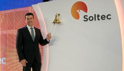 Soltec debuta en Bolsa con una subida del 11%
