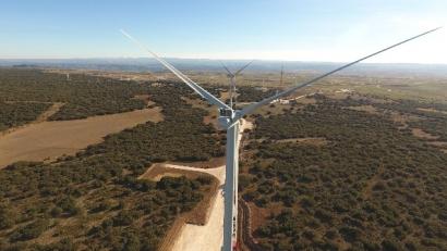Enel conecta cinco parques eólicos en la provincia de Teruel