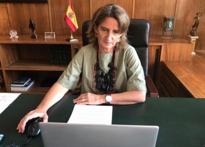 Ribera plantea a los 37 ministros de Medio Ambiente de la OCDE una recuperación verde traccionada por las energías renovables