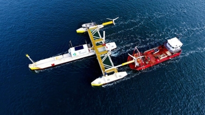Eólica marina: crecimiento del 500%