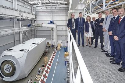 Nordex Acciona Windpower emplea a 900 trabajadores en Navarra
