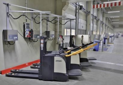 Los 6.000 transpaletas de Dachser llevarán batería de litio