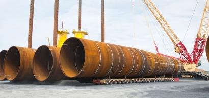 La vasca Haizea fabricará los pilotes que soportarán las turbinas del primer parque eólico marino del Mediterráneo