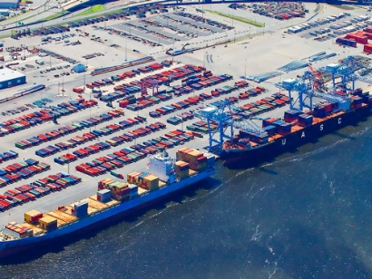 Governor Announces $34 Million Investment to Electrify Port of Virginia