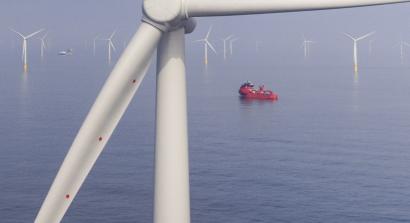 Vattenfall elige al gigante SGRE de 11 megavatios para equipar el primer parque eólico marino del mundo sin subsidios