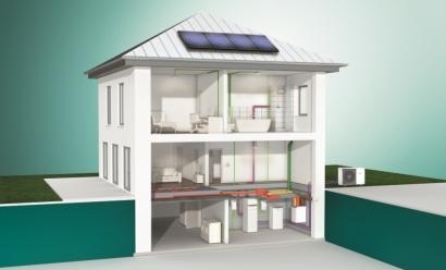 Vaillant lanza al mercado del autoconsumo un equipo de climatización híbrido bomba de calor-sistema fotovoltaico