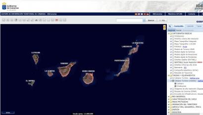 Aquí están los 216 parques eólicos de Canarias